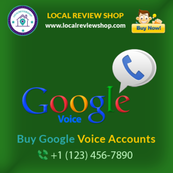 Buy google voice accounts | localreviewshop.com